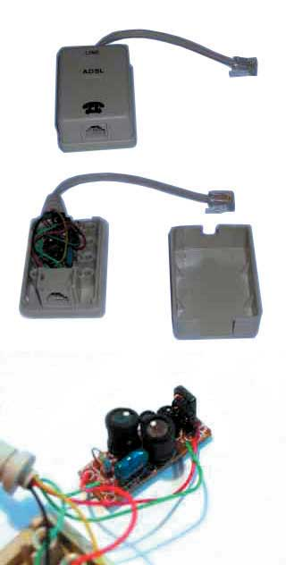ADSL POTS Splitter/Filter