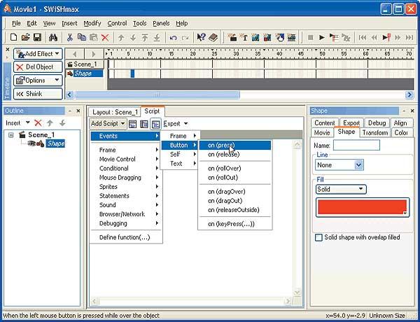Создание сайтов в swishmax новые perfect world pvp сервера