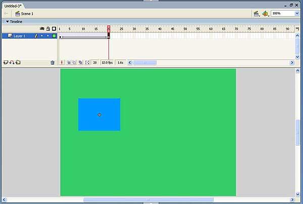 Изучаем Macromedia Flash. Урок 6. Цветовые эффекты на базе ...