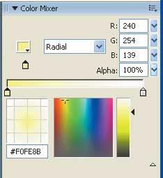 Рис. 16. Панель Color Mixer