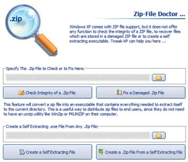 Рис. 3. Утилита Zip-File Doctor