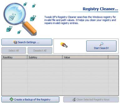 Рис. 4. Утилита Registry Cleaner