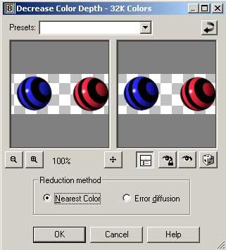 Color chooser program