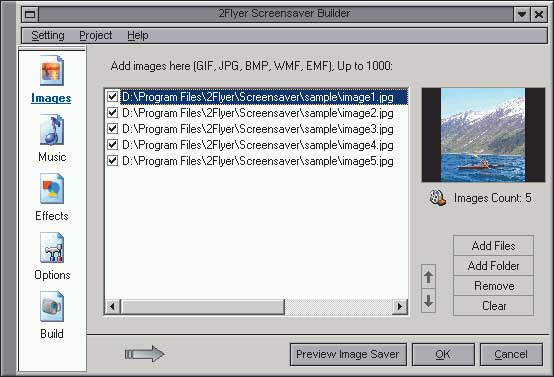 2Flyer Screensaver Builder 6.2.2