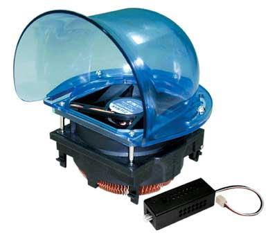 Рис. 10. Система охлаждения процессора ZALMAN CNPS5700D-Cu