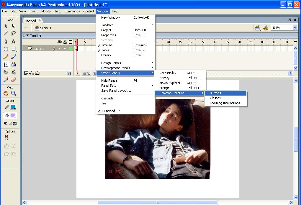 Скачать Урок Macromedia Flash 8 - картинка 3