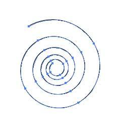 Рис. 19. Внешний вид кривой в виде спирали