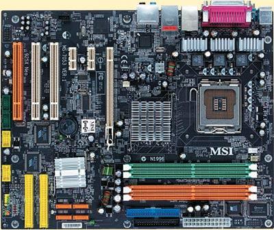 Системная плата MSI 925X Neo