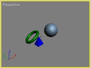 Рис. 19. Вид окна Perspective после автоматической корректировки масштаба инструментом Zoom Extents