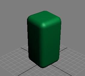 Рис. 2. Результат добавления фаски к объекту ChamferBox