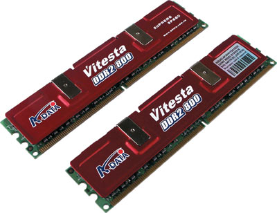 A-DATA Vitesta DDR2 800
