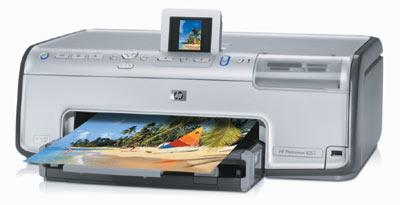 Photosmart 8253 — первый фотопринтер HP, оснащенный несъемной печатающей головкой