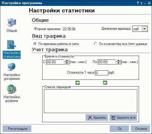 Программа для ускорения работы интернета