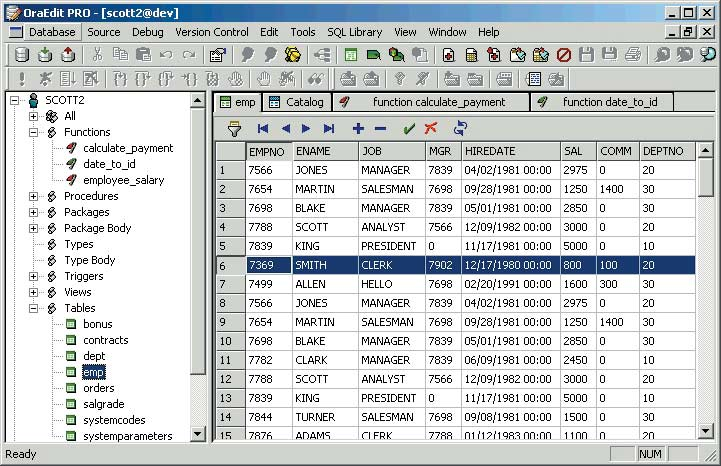 DBDiff for Oracle (DKG Advanced Solutions)