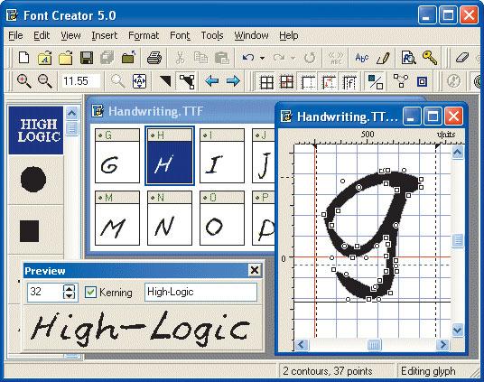 редактор шрифтов - фото 2