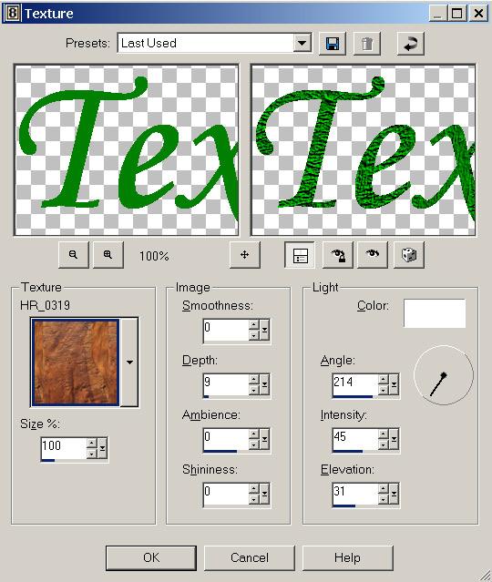 Рис. 24. Наложение на изображение созданного текстурного эффекта