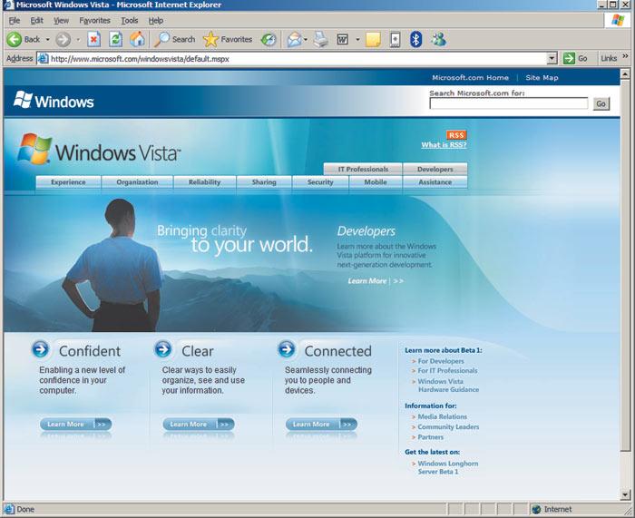 скачать windows vista с сайта майкрософт