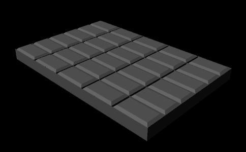 Рис. 47. Плитка шоколада