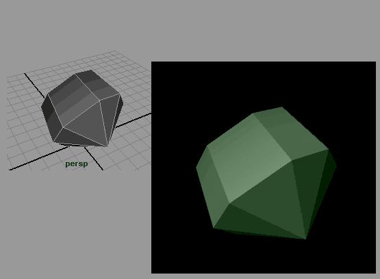 Рис. 72. Ограненный кристалл