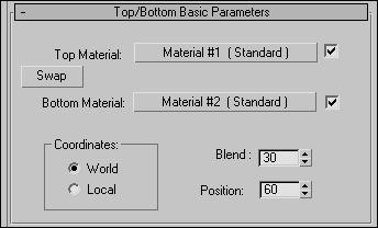 Рис. 14. Параметры настройки материала Top/Bottom