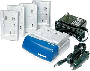 Комплект поставки универсального зарядного устройства Lenmar MSC1L.
