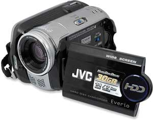 JVC Everio GZ-MG77E
