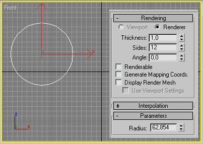 Рис. 21. Панель Modify — редактирование на уровне объекта
