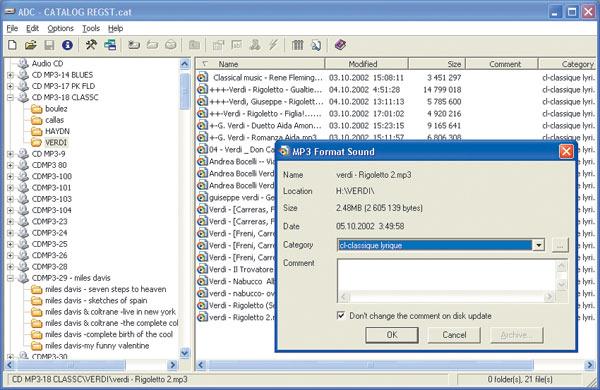 Advanced Disk Catalog 1.51