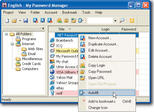 My Password Manager
