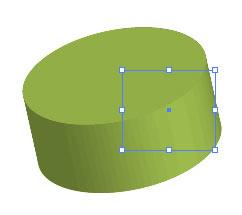 Рис. 3. Модель с поверхностью Plastic Shading