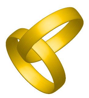 Рис. 71. Пересекающиеся кольца