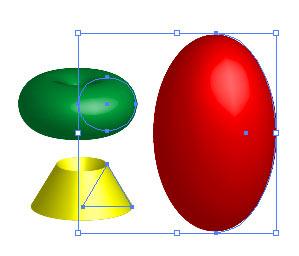 Рис. 9. Начальный вид моделей вращения
