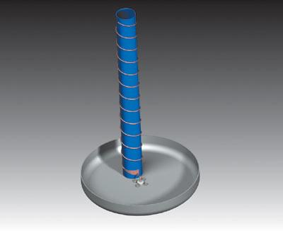 Рис. 25. Схема спиральной антенны
