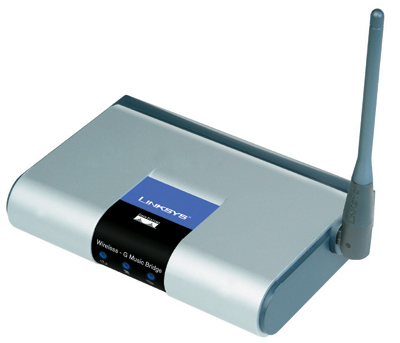 Linksys Wireless-G Music Bridge