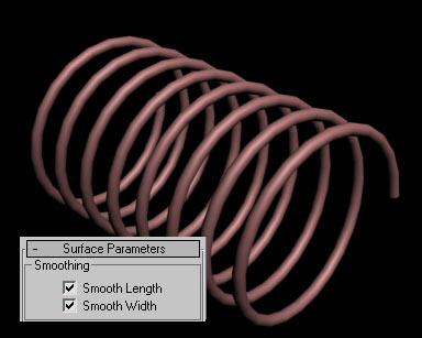 Рис. 13. Спираль с включением обоих вариантов сглаживания