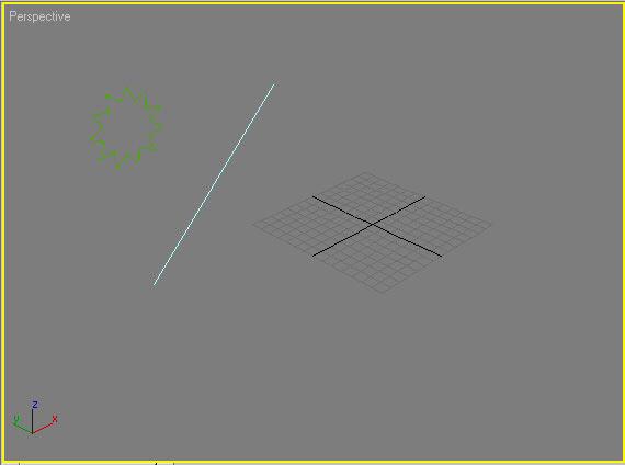 Рис. 7. Исходные формы для первого loft-объекта
