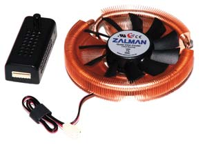 Zalman VGA Cooler VF900-Cu Led