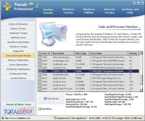 tweak-xp professional 4.0.7