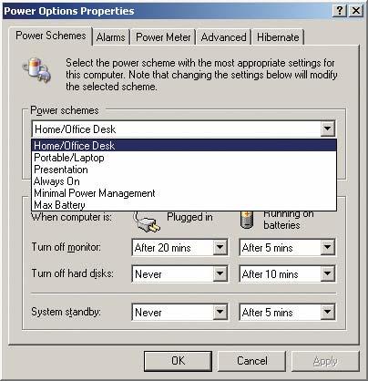 В операционной системе Windows