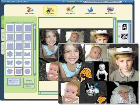 ArcSoft Collage Creator - простая и удобная программа для создания любительских фотоколлажей, увековечивающих любые...