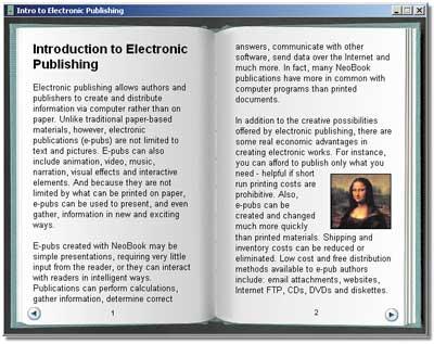 Просмотр NeoBook-публикации