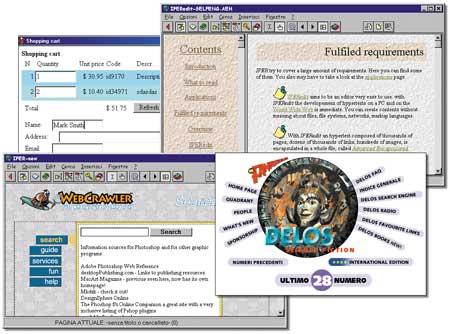 Примеры электронных публикаций, созданных при помощи программы eBooksWriter