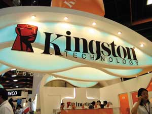 Стенд компании Kingston