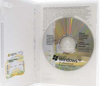 Установка лицензионного XP поверх просроченного пиратского XP.
