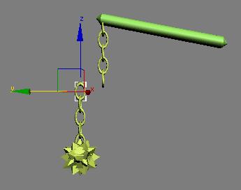 Рис. 3. Поведение объектов в случае прямой кинематики