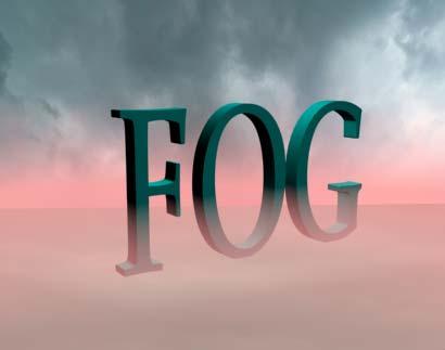Рис. 20. Текст, окутанный туманом
