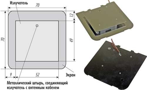 Схема антенны D-Link DWL-R60AT