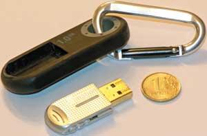 Imation Clip Flash Drive 1GB