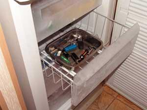 Замораживаем флэшки в морозильной камере при температуре–18 °С
