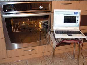 Когда «жаркое» готово, можно измерить скоростные характеристики